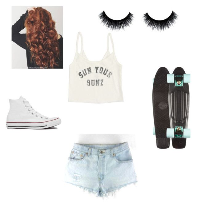 """""""Untitled #2"""" by xoxocloe ❤ liked on Polyvore featuring Billabong and Converse"""