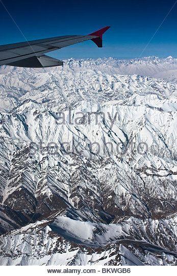 上空から見るヒマラヤ山脈が美しい。ヒマラヤ山脈の見所!