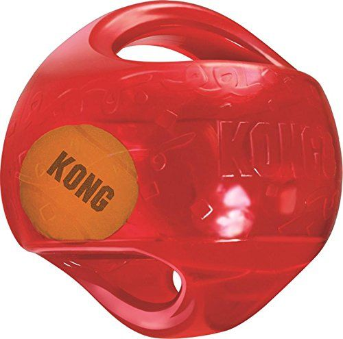 KONG Jumbler Ball Toy, Large/X-Large (colors may vary)