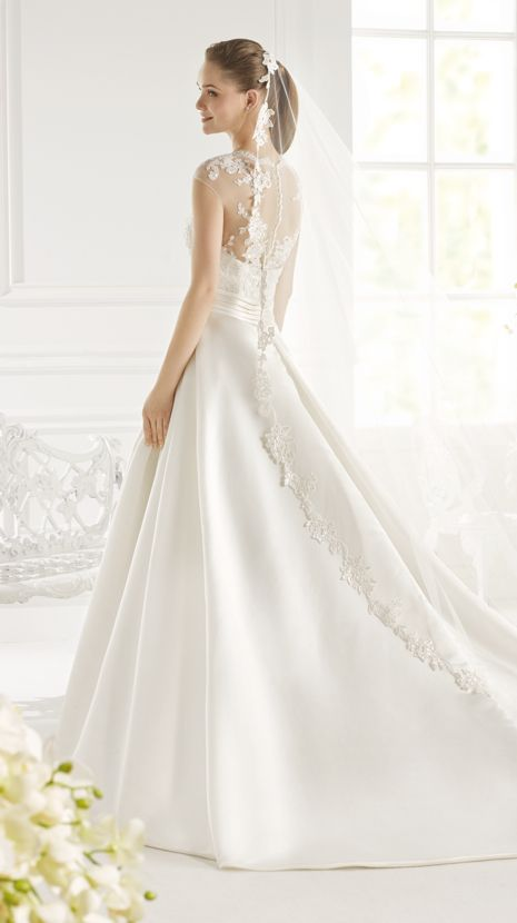 PAYNE | Bridal Gowns | 2015 Collection | Avenue Diagonal (back)