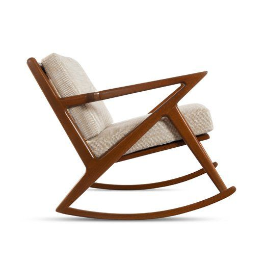 kennedy rocking chair @ thriveMid Century Modern, Rocks Chairs,  Rocker, Rocking Chairs, Kennedy Rocks, Living Room, Furniture, Home Furnishings, Midcentury