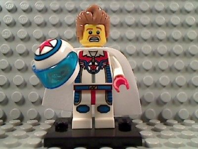 stunt lego minifigure | Lego Daredevil Series 7 Minifig 8831 Stunt Man Helmet Evel Knievel ...