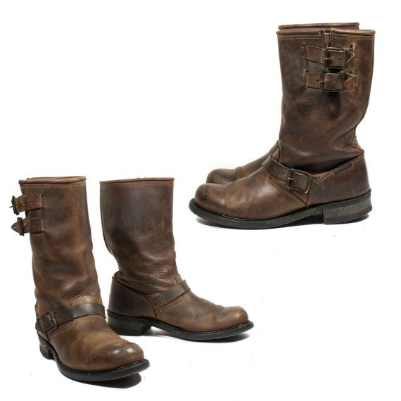 Amazon Harley Davidson Womens Brown Engineer Boots