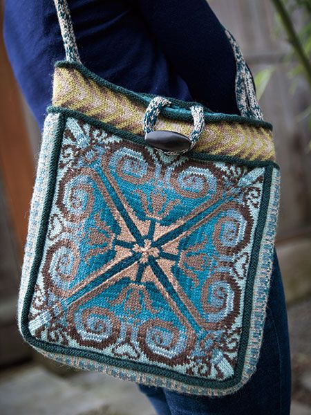 521 Best Images About Knitted Bags And Totes On Pinterest