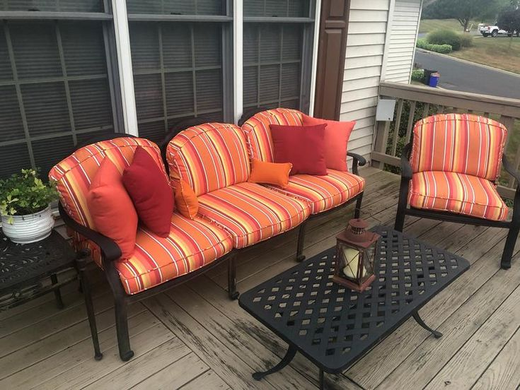 CUSTOM Outdoor Patio Furniture Replacement Cushion Covers