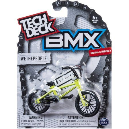 Tech Deck BMX Finger Bike, WeThePeople, Green, Multicolor