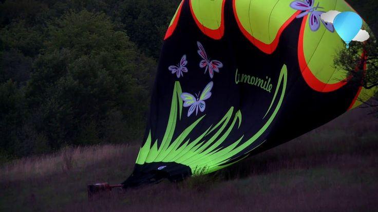 Легче Воздуха: Чемпионат Московской Области По Воздухоплаванию 2016 - Посадка Аэростата В Порыв