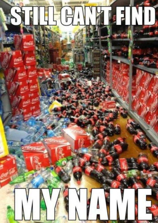 Have you found your name yet? Dam you coke!!!!