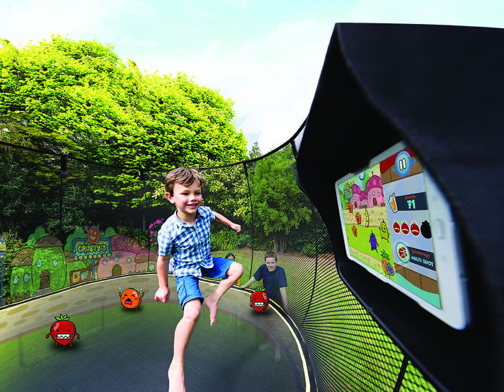 Big news! Today we are excited to introduce you to tgoma - the first outdoor interactive digital gaming system designed for a trampoline. Springfree featuring tgoma takes the passion for digital gaming and shifts it outside, making it active.   tgoma - Take Gaming Outside and Make it Active #tgomatime
