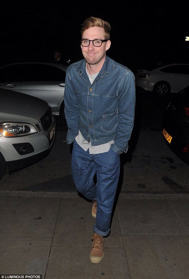 Ricky Wilson look good in glasses