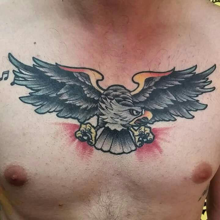Tattoos healed tattoos color tattoos eagle traditional tattoos bogota colombia rotten apple