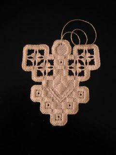 With Needle and Thread: Hardanger Ornaments