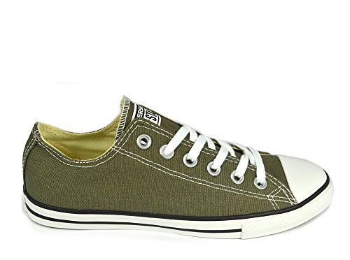 Converse Chuck Taylor All Star Lean Ox Unisex Canvas Trainers Green - 40 EU  - http