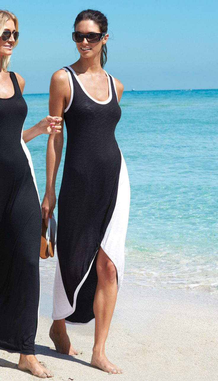 This #maxi cover-up is ideal for hot days on the beach. #taketheplunge #searscanada
