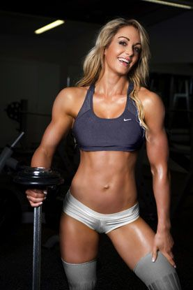"""I'm kind of out of excuses to not be veggie/vegan again... """"Raechelle Chase (veggie/vegan figure competitor)"""" #bodybuilding #fitness #bodybuilder"""