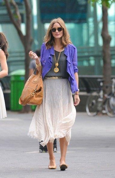 Olivia Palermo: Midi Skirts, Oliviapalermo, Outfits, Fashion, Summer Style, Street Style, Long Skirts, Olivia Palermo, Maxi Skirts