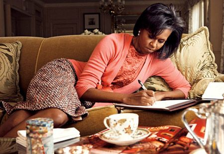 One of my fave pics of her: First Lady Michelle Obama  classy, graceful, funny, warm  great role model