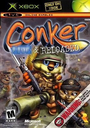 Conker Live and Reloaded. This remake is just as foul-mouthed and hilarious as the original, but gives us improved graphics and an all-new multiplayer.