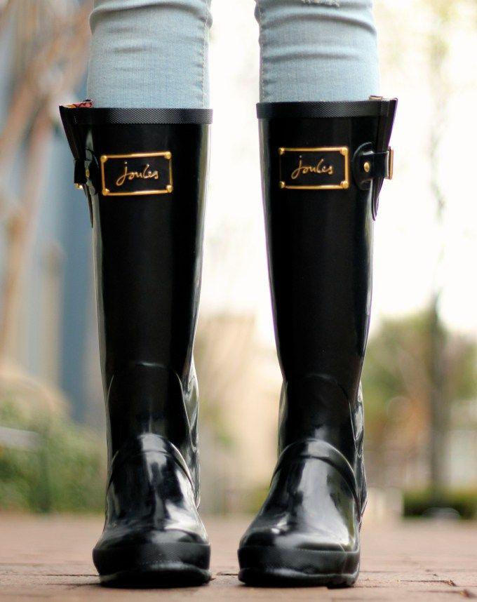 Joules | Rain Boots | The Teacher Diva
