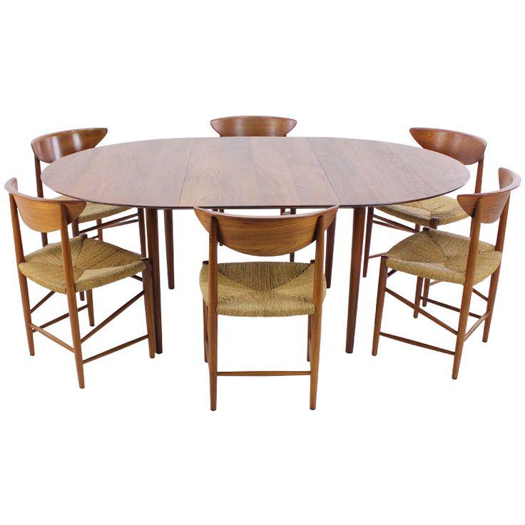 Teak Dining Room Set: 17 Best Images About Peter Hvidt / Furniture On Pinterest
