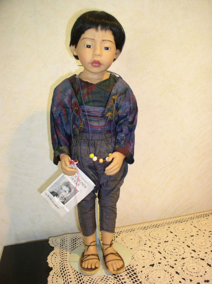Gotz Philip Heath Doll Quot Kim Quot Hang Tag Amp Beads Germany