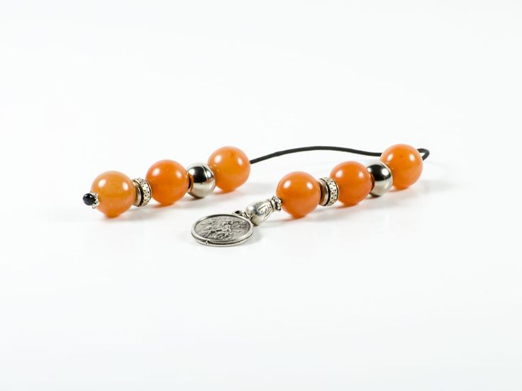 Cornelian Gemstone Handmade Greek Begleri | St. Mary | 12x12mm | 6 Carnelian Beads by TheBeadedGardencom on Etsy