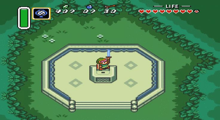 7-the-legend-of-zelda-a-link-to-the-past #retro games
