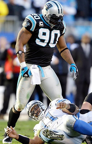 Julius Peppers - Carolina Pathers - DE
