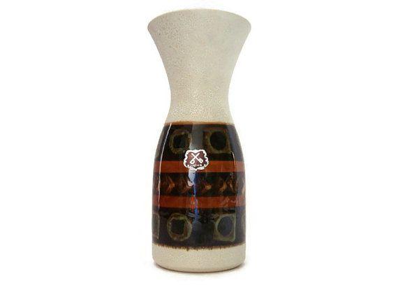 Vintage ceramic vase Dümler & Breiden 141 25 West by VintageBreda