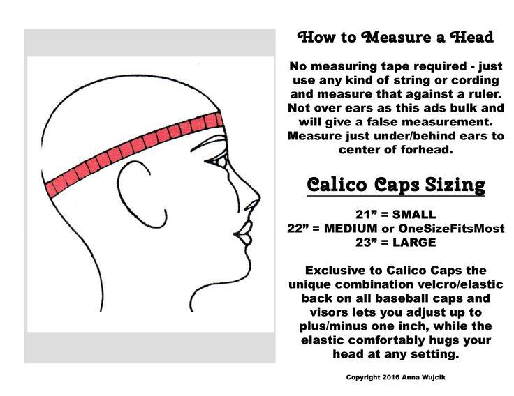 How to measure a head. Will this baseball cap ball cap