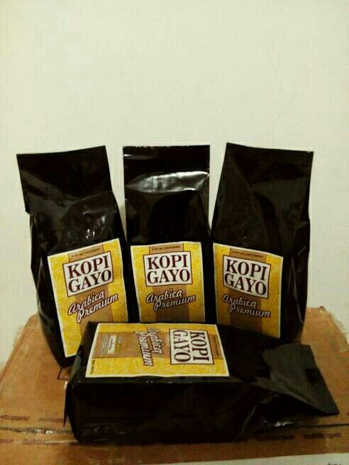Gayo Arabica Premium Coffee @ 250 gram only IDR 61,000 roasted bean. Indonesia Speciality Coffee.