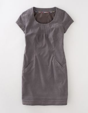 so easy and fantastic with boots... i might even be brave enough to layer some long sleeves under this one. nice to see a corduroy dress that isn't a shirt dress!