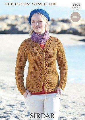 Sirdar DK Crochet Pattern 9805