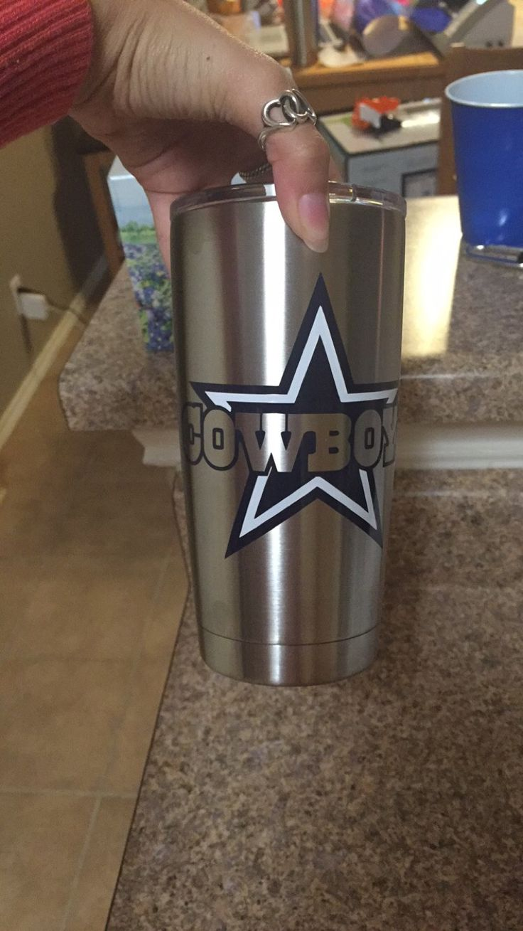 Cowboys Yeti Yeti Cup Designs Decals For Yeti Cups Cup