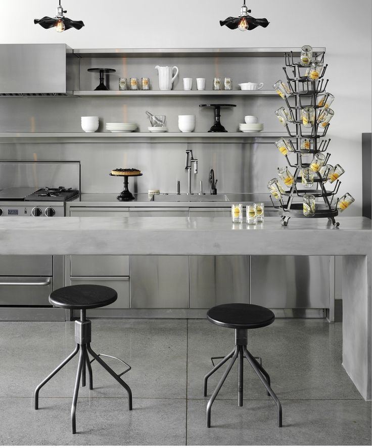 47 Incredibly Inspiring Industrial Style Kitchens: 28 Best Project : Frat House (Inspiration) Images On