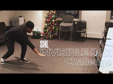 Chris Redd, Melissa Villaseñor, Kyle Mooney and more SNL cast members attempt the invisible box challenge.  #SNL #SNL43  Get more SNL: http://www.nbc.com/saturday-night-live Full Episodes: http://www.nbc.com/saturday-night-liv...  Like SNL: https://www.facebook.com/snl Follow SNL: https://twitter.com/nbcsnl SNL Tumblr: http://nbcsnl.tumblr.com/ SNL Instagram: http://instagram.com/nbcsnl  SNL Pinterest: h...