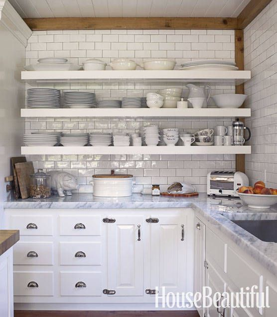 Open Kitchen Cabinets: 1000+ Ideas About Open Shelf Kitchen On Pinterest