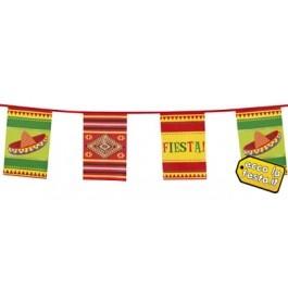 Bandierine Fiesta 36cmx10m http://www.eccolafesta.it/bandierine-fiesta-36cmx10m.html