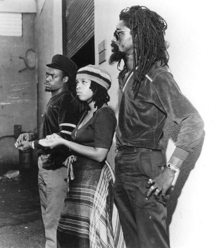 BLACK UHURU: Michael Rose, Puma Jone and Duckie Simpson...