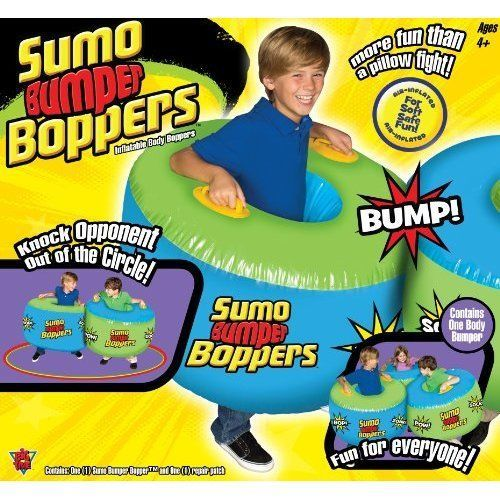 Outdoor Games For Kids Play Fun Boys Inflatable Sumo Bumper Children Summer #Unbranded