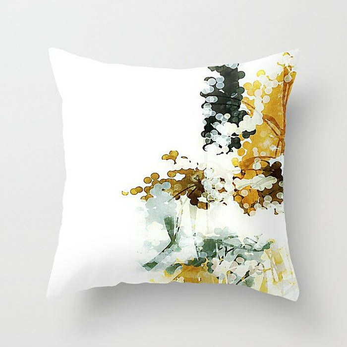 Neutral Pillow Cover, Throw Pillow Cover, White Pillow Cover, Mustard Yellow, Charcoal Gray, Cushion Cover, Neutral Pillow, Sofa Pillow by TinaCarroll on Etsy https://www.etsy.com/listing/544467188/neutral-pillow-cover-throw-pillow-cover
