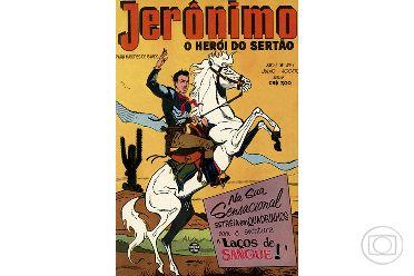 Primeiro número de Jerônimo, o herói do sertão, 07/1957. Acervo Ed. Globo