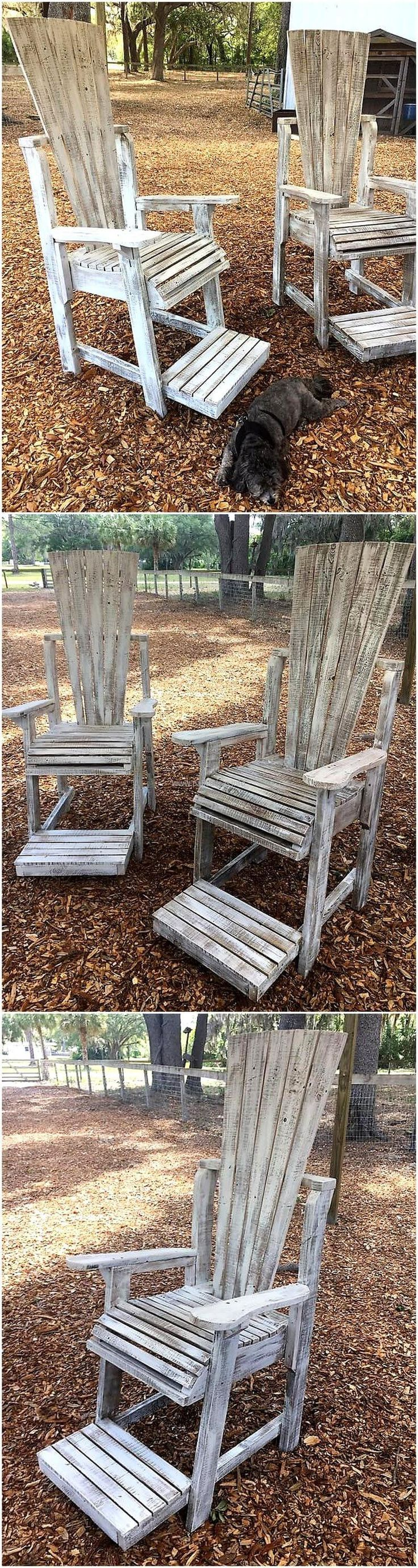 99 best Pallet Chairs images on Pinterest