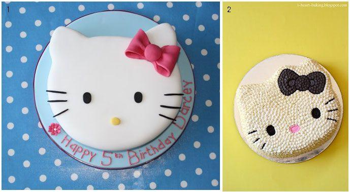 τουρτες γενεθλιων Hello Kitty φατσουλες