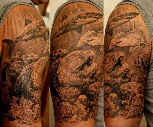 tattoo fundo do mar - Pesquisa Google                              …