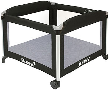 """Joovy Room Playard - Black - JOOVY - Babies """"R"""" Us-Nice large playpen, fits multiple babies and/or baby plus blanket and toys. Safe place to play, not just to nap in."""