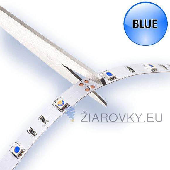 Používa sa ako moderné a designové osvetlenie do interiérov áut, domácností, reštaurácii, barov, osvetlenie reklám, výkladov obchodov, políc, skríň, obrazov a pod. Každý meter LED pásu obsahuje 60 led diód a vyžaruje modré svetlo. Na spodnej strane led pásu je obojstranná samolepiaca páska pre jednoduchú montáž. Pásik je možné deliť podľa svojich požiadaviek. Led pás je vysoko kvalitný od slovenskej značkovej firmy V-TAC, ktorá je výhradným distribútorom značky V-TAC EUROPE.