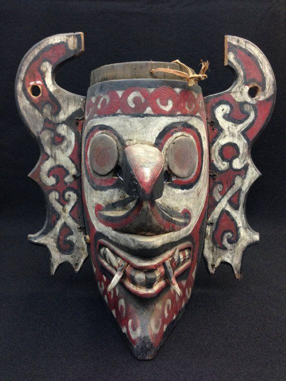 Dayak Hudoq Mask from East Kalimantan by EthnicArtandJewelry, $129.95