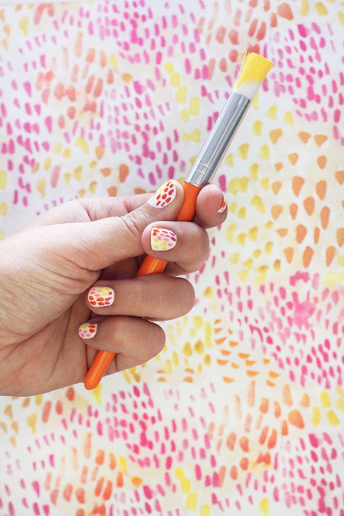 brush strokes / chanel