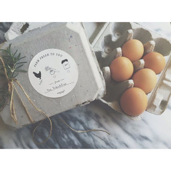 Canning Sticker Labels - Vegetable and Egg Labels - Farmers Gift - Homestead - Egg Carton - Housewarming Gift - Farm Packaging Labels